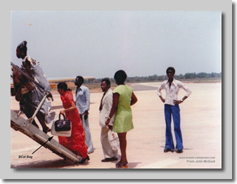 Banjul - Passengers Boarding the 1-11